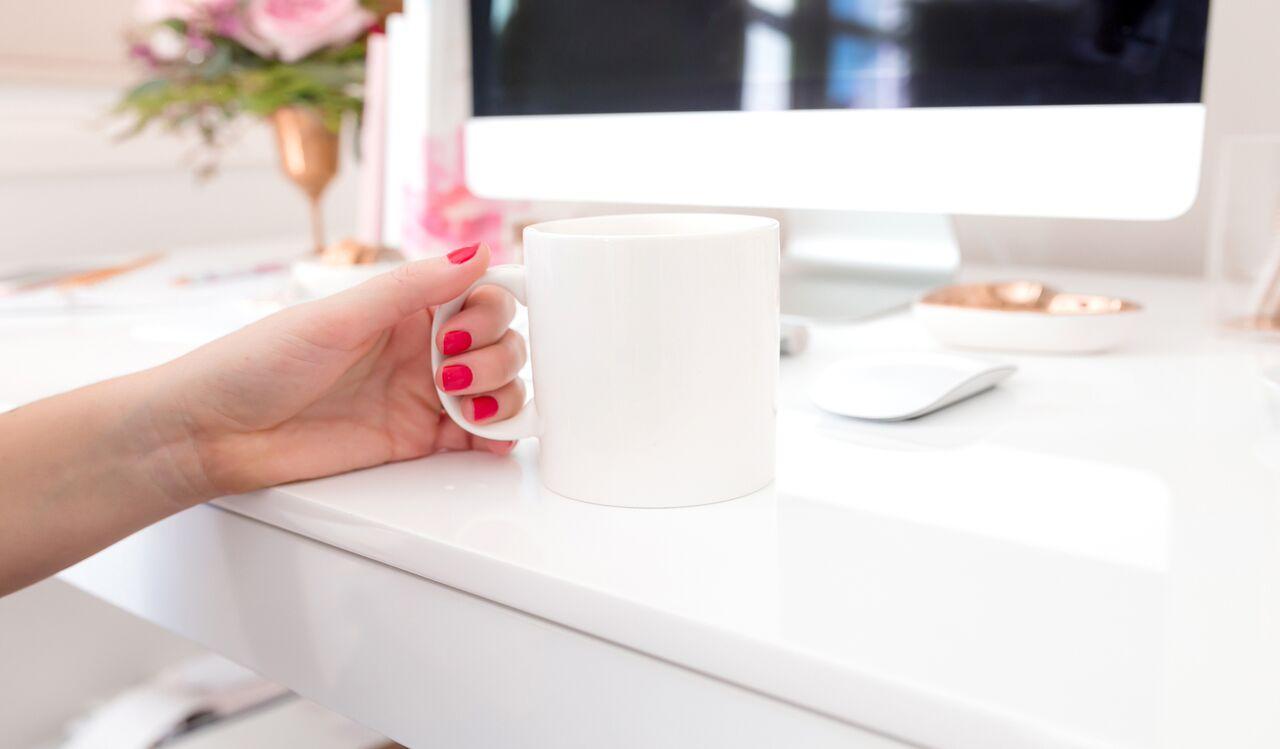 White Mug Desktop